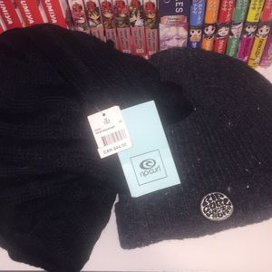 Ripcurl loop scarf and toque
